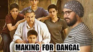 Dangal Movie 2016 Making   Aamir Khan   Behind The Scenes