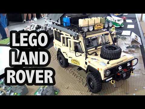 LEGO Land Rover Defender With Motor And Lights!