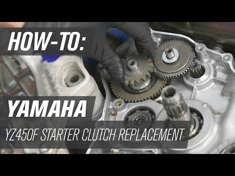 How To Replace the Starter Clutch on a YZ450F/FX