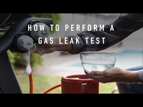 How To Perform A Gas Leak Test