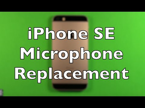 iPhone SE Microphone Replacement How To Change