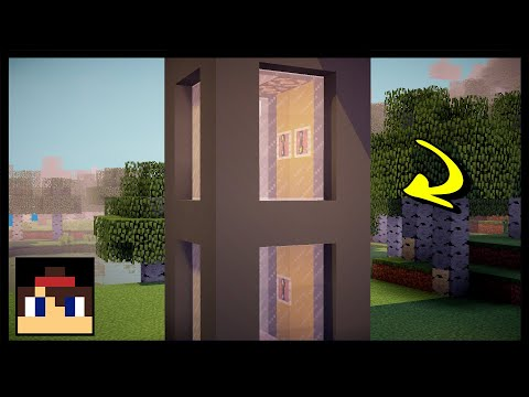 ✔ Minecraft: How To Make A Working Elevator | MCPE (No Mods Or Addons!)