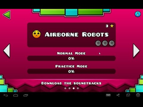 Geometry Dash Meltdown - Level 3: Airborne Robots