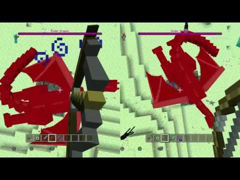 Minecraft PlayStation 4 create end portal and fight ender dragon