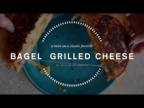 Bagel Grilled Cheese