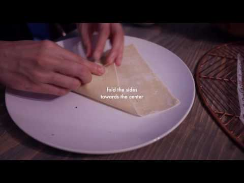 How to Roll Egg Rolls (Chả giò)