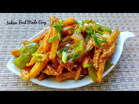 Honey Chilli Potato Recipe In Hindi By Indian Food Made Easy
