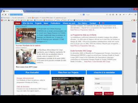 Humana Template: Multilanguage Site