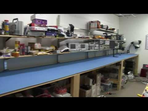 EEVblog #585 - Lab Bench ESD Matting Upgrade + Tagarno HD Microscope