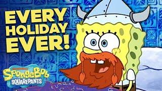 Happy Leif Erikson Day! 🎉 Top 10 Funniest Holidays in Bikini Bottom! | SpongeBob