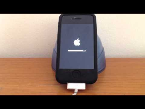 How to Update your Apple iPhone 4 / iPhone 4S from iOS 5 over WiFi (over the air)