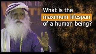 Download What is the maximum lifespan of a human? | conversation with mystic | Sadhguru and Dr.Rajasekaran Video