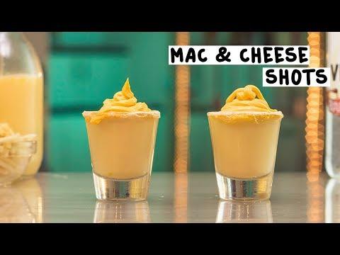 Mac & Cheese Shots - Tipsy Bartender