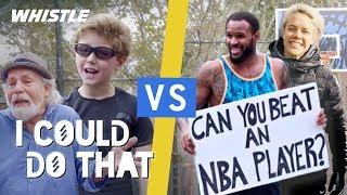 PRO Athletes vs. Regular People!