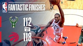 The Raptors & Bucks Need Two Overtimes to Settle Game 3 | May 19, 2019