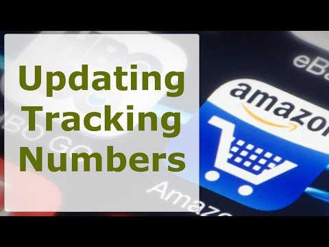 Amazon Drop Shipping | Updating Tracking Number on Amazon Sales drop shipping from Walmart