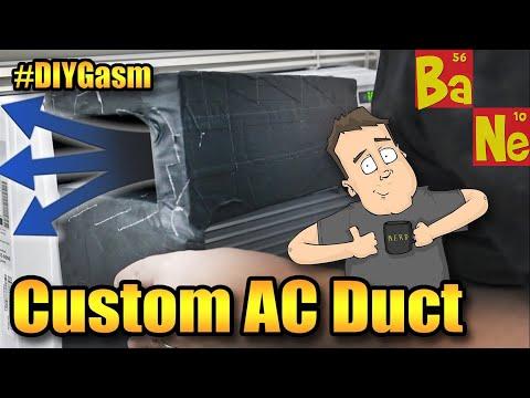 Custom DIY Air Duct for my Window AC