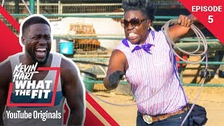 Download Recreational Rodeo with Leslie Jones | Kevin Hart: What The Fit Episode 5 | Laugh Out Loud Network Video