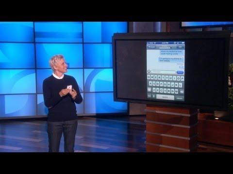 Ellen Talks to Text
