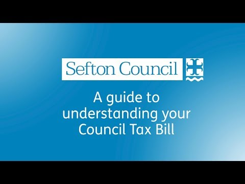 Sefton Council - A guide to understanding your Council Tax Bill 2018