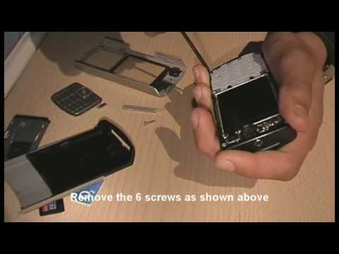 Nokia N70 Disassembly. Quick and Easy Disassembly guide