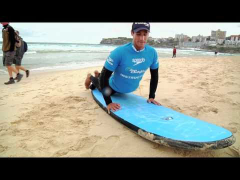 Surf lesson with coach Tim Boulenger - Bondi Beach Lets Go Surfing