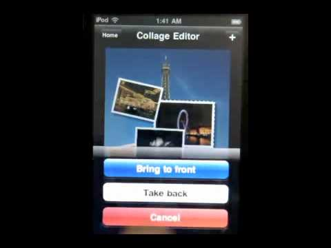 Collage Creator for iPhone/iPod Overview