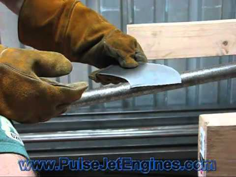 How To Make A Pulsejet Engine: Sheet Metal Work