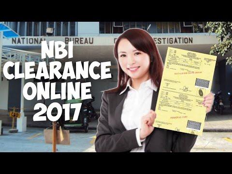 NBI Clearance Online Renewal 2017