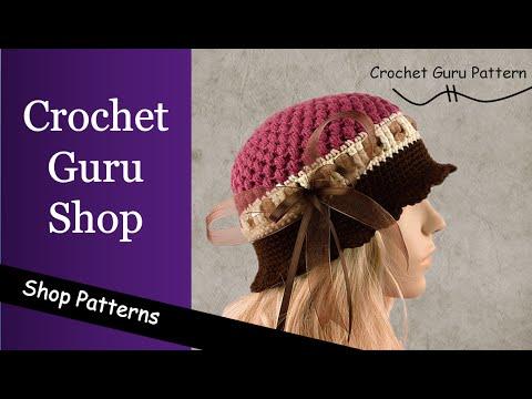 Crochet Pattern Store - Crochet Guru Shop - Shop Patterns