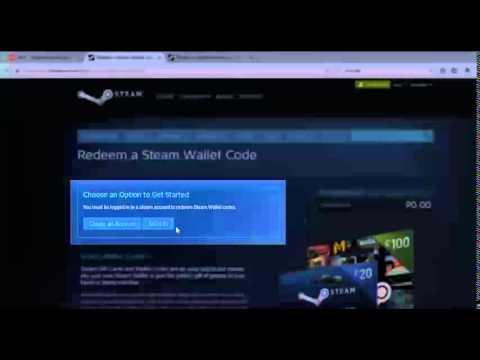 Steam Wallet Code via LC