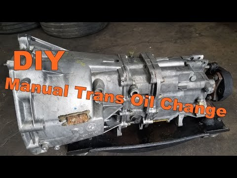 BMW Manual Transmission Oil Change