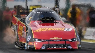 Courtney Force goes No. 1 in Topeka