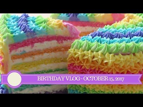 Birthday Vlog - October 15, 2017