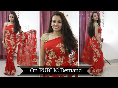 Make Your Own Premium Designer Saree In Just Rs. 1999 {Part 4}
