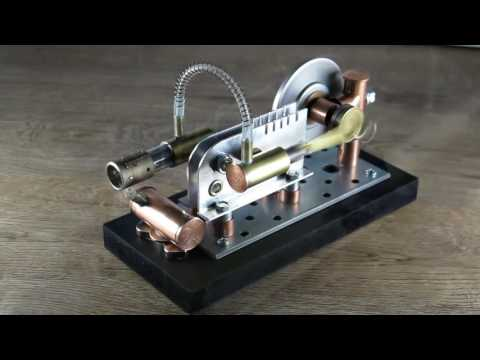 Stirling engine - Hot air engine - Recycled materials