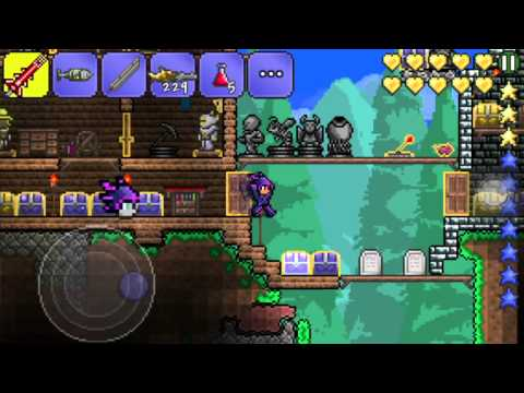 Terraria iOS Quest:Gettingn Angels and Demon Wings Last Part