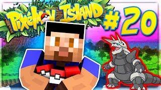 GETTING AGGRON! - PIXELMON ISLAND S2 #20 (Minecraft Pokemon Mod)