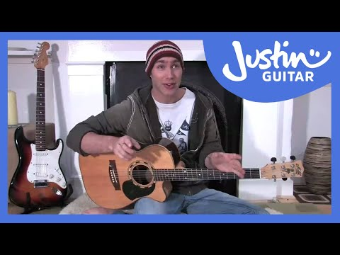 4:4 all down rhythm (Guitar Lesson BC-116) Guitar for beginners Stage 1