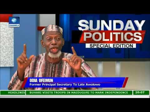 Nigeria No More A Mere Geographical Expression - Odia Ofeimun |Politics Today|