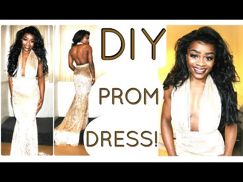 DIY PROM DRESS/ BALL GOWN! By Dr Sara Sienna - PART 1/2