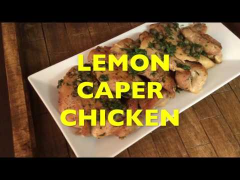 How to make Chicken with Lemon Caper Sauce