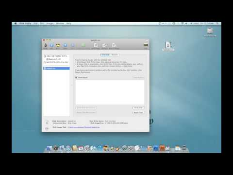 How to Mount/Burn Disk Image MAC!! HD