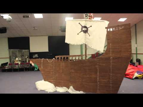 Making a Pirate Ship: The Giant Pebble