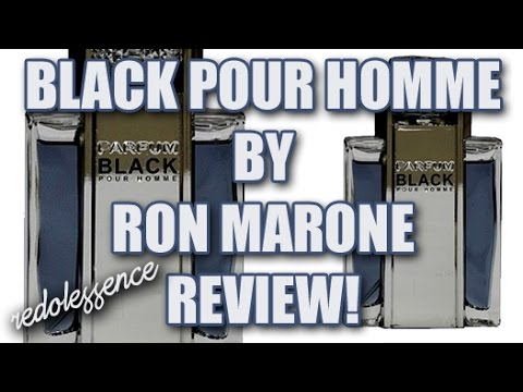 Black Pour Homme by Ron Marone Fragrance / Cologne Review