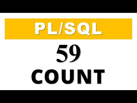 PL/SQL tutorial 59: PL/SQL Collection Method COUNT in Oracle Database by Manish Sharma