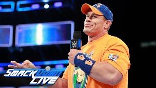 John Cena calls out Baron Corbin: SmackDown LIVE, Aug. 8, 2017