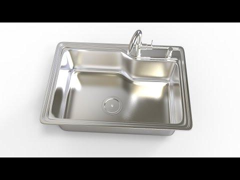 MAX Modeling Tutorial l Kitchen Sink
