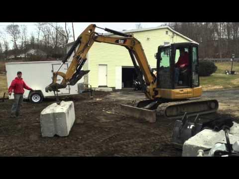 Ultimate Mini Excavator challenge Kubota U55 vs CAT 305  STRENGTH TEST -