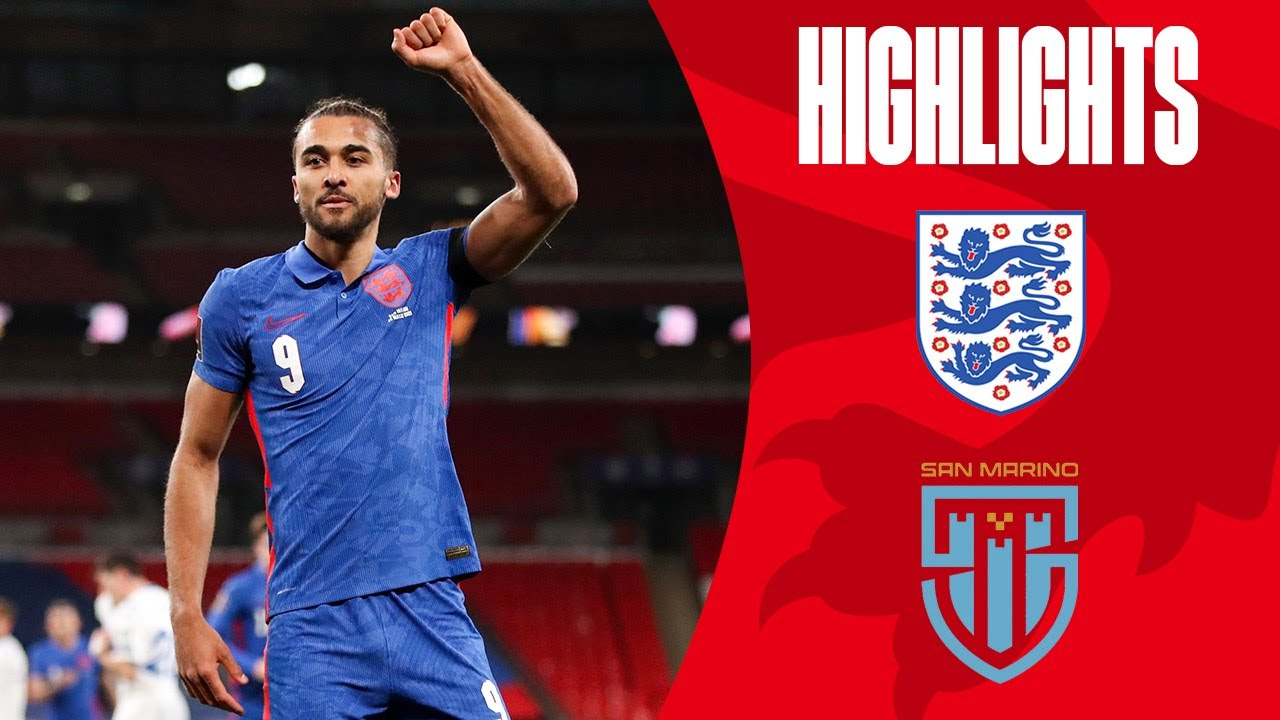 England 5-0 San Marino | Watkins Debut Goal & DCL Double | World Cup 2022 Qualifiers | Highlights